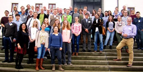 THis group picture shows the staff of the LBI-CR with theguests at the annual meeting 2015 was held in Seggau (Stmk)