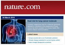 Emilio Casanova report in Nature Communications about a double role of STAT3 in lung cancer